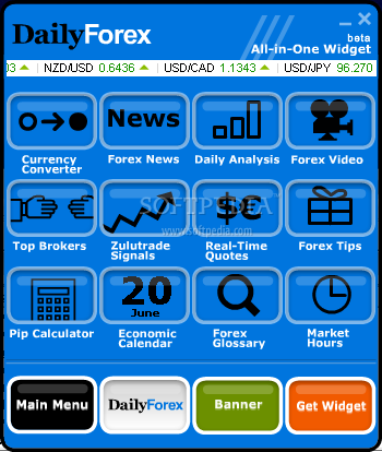 Forex currency widget