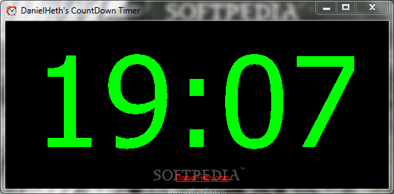 downloadable countdown timer