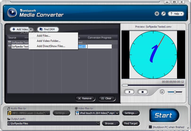 Windows media converter