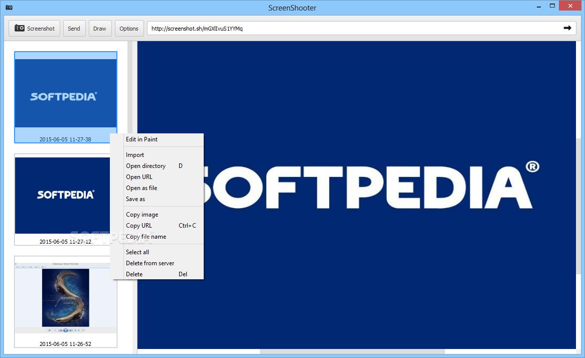 Dariusz ScreenShooter 1 - скриншоты на windows, как сделать скриншот