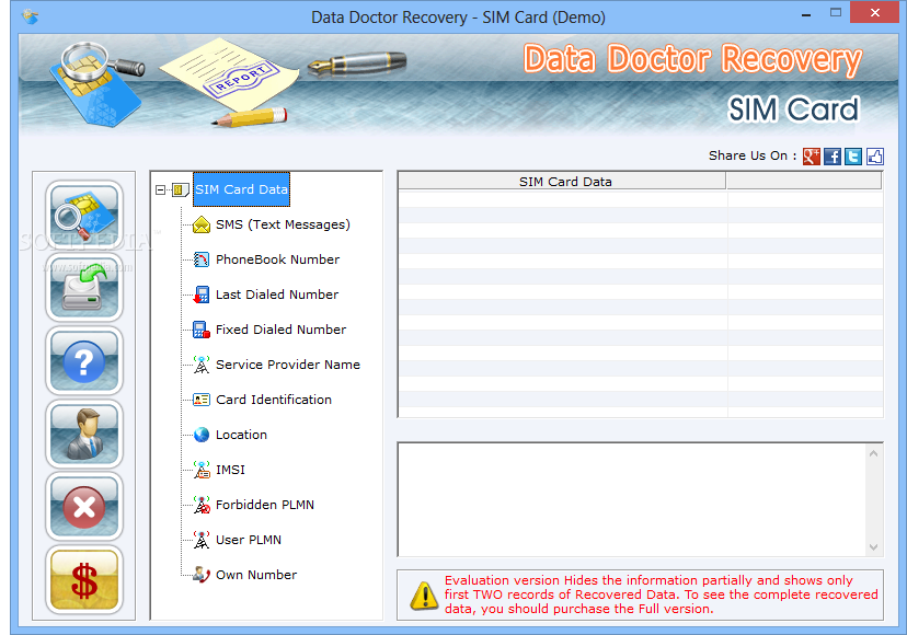 Инструкция data doctor recovery sim cardПрограмма Data Doctor Recovery.