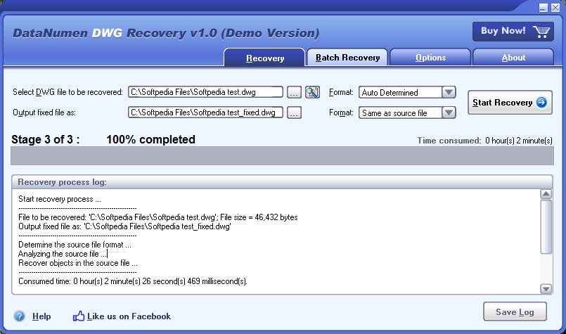 Download DataNumen DWG Recovery 1 6 0 0