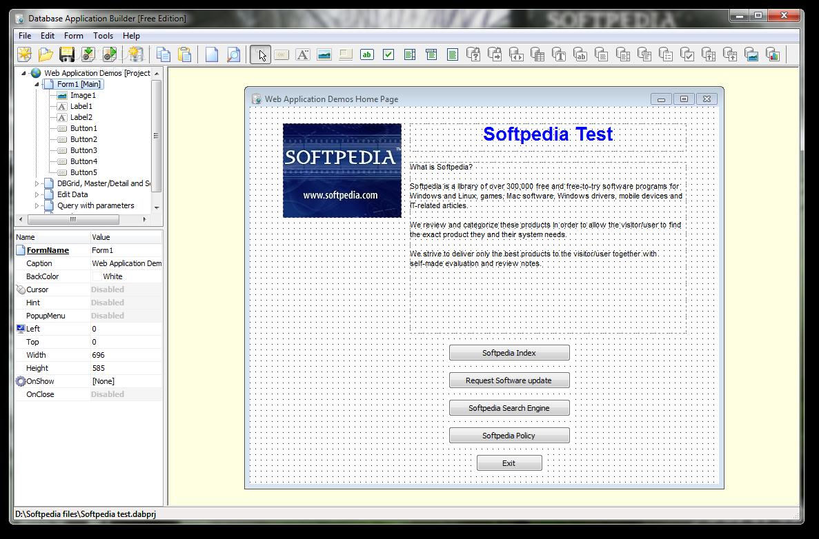 download database application builder free 2 4 0 322
