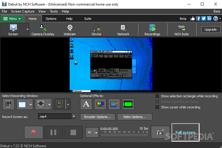 debut video capture software mac download free