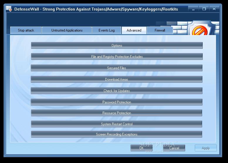 DefenseWall Personal Firewall screenshot 4