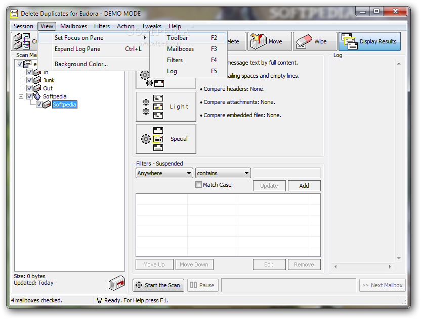 how to delete webwatcher access to email