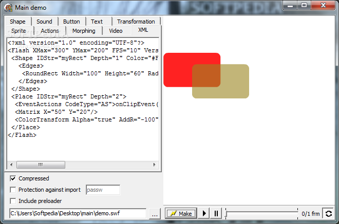 Delphi SWF SDK screenshot 10
