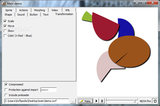Delphi SWF SDK screenshot 5