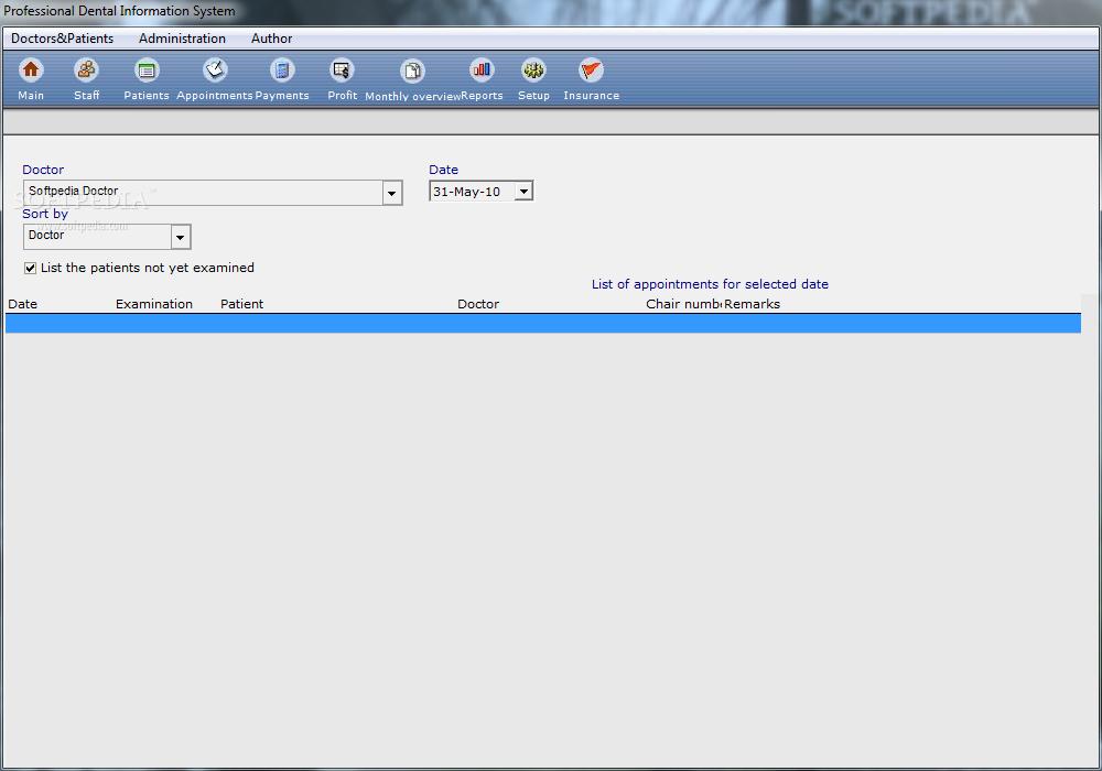 Download Professional Dental Information System 7 0