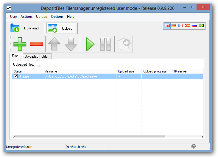 depositfiles filemanager 0.9.9.206