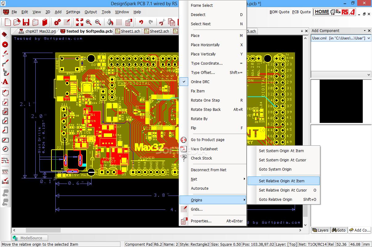 Download DesignSpark PCB 8.0 / 8.1 Beta