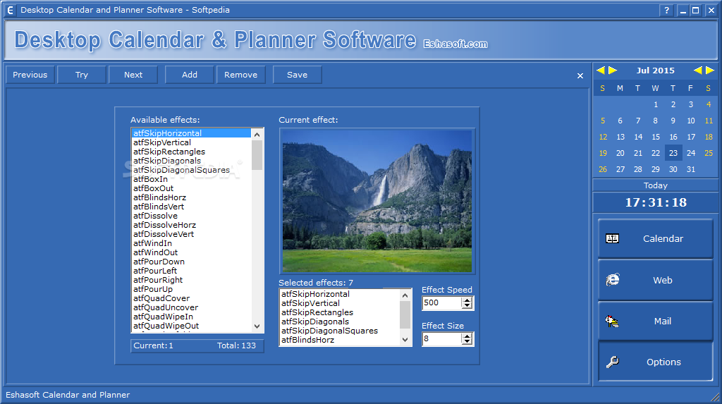 Calendar Planner Program : Desktop calendar and planner software download