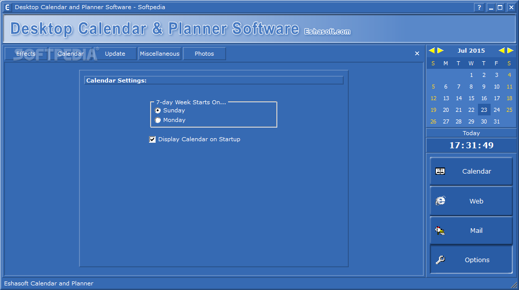 Calendar Planner In Windows : Download desktop calendar and planner software