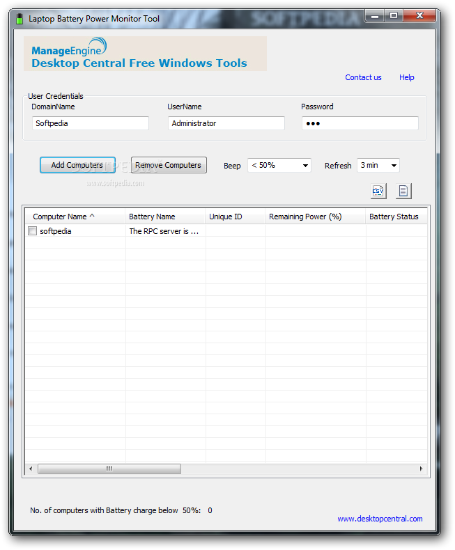 Download Desktop Central Free Windows Tools 2 8