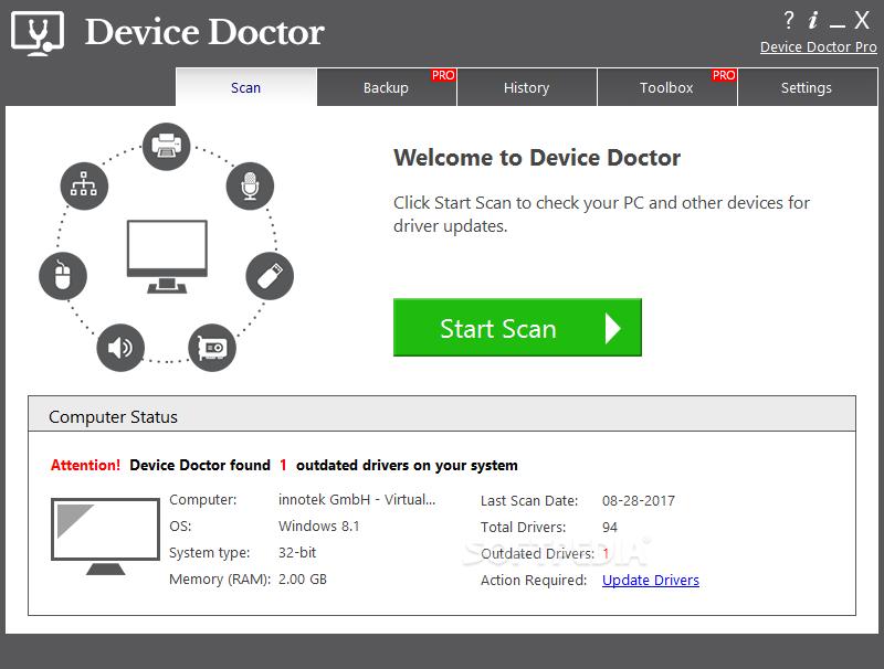 device doctor pro 4.0.1 license key & crack free download