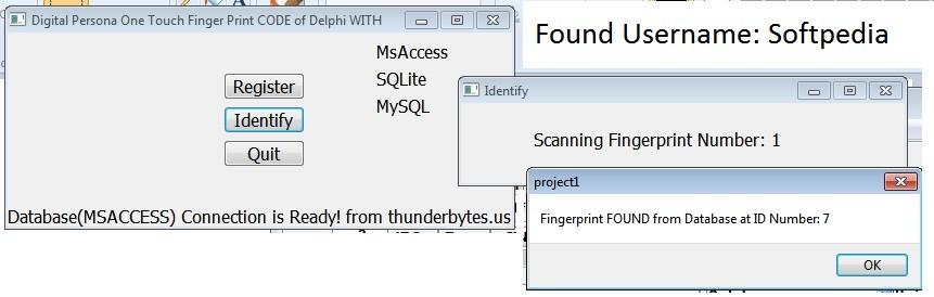 Download Digital Persona 1 Touch Delphi Code 1 0 0 0