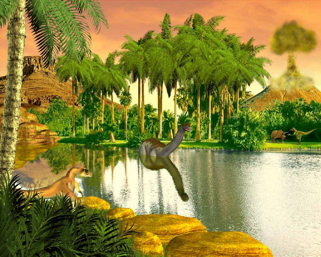 Dinosaur Valley  Animated Wallpaper  This is the image that will be