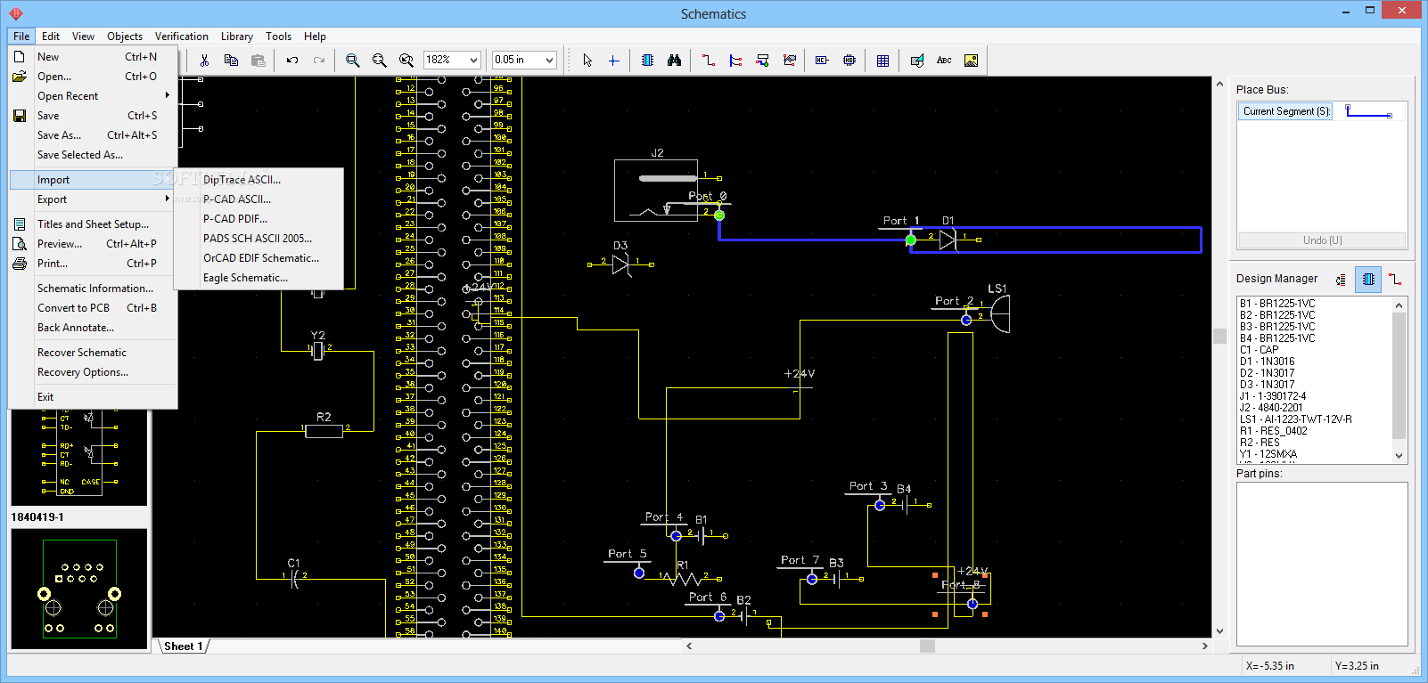 Schematic Software  Free downloads   downloadcnetcom