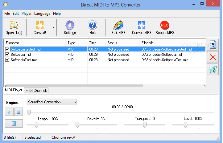 MIDI to MP3 Converter - blogger.com