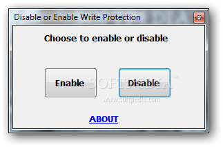 Download Disable or Enable Write Protection 1 0 0 0