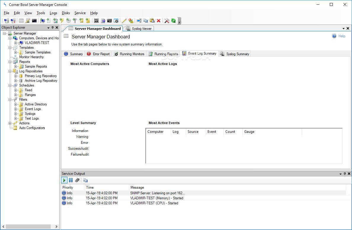 Download Corner Bowl Disk Monitor 18 0 0 99