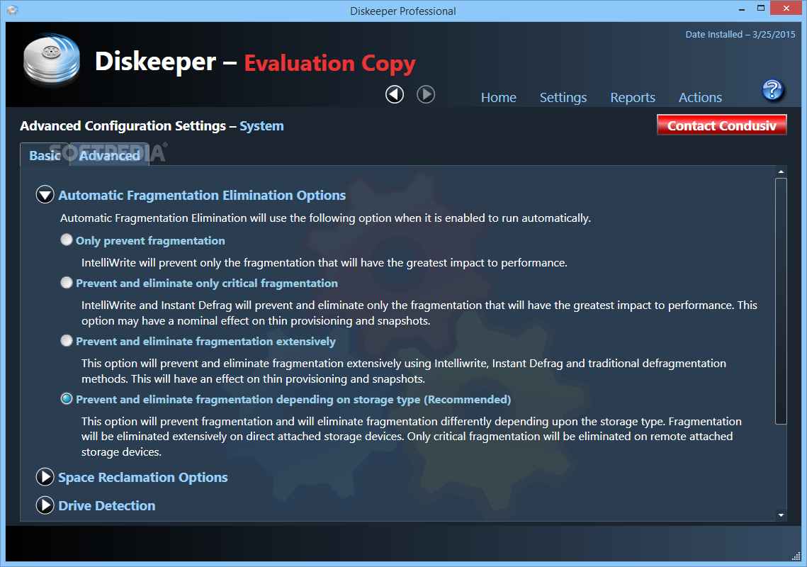 diskeeper professional 2016