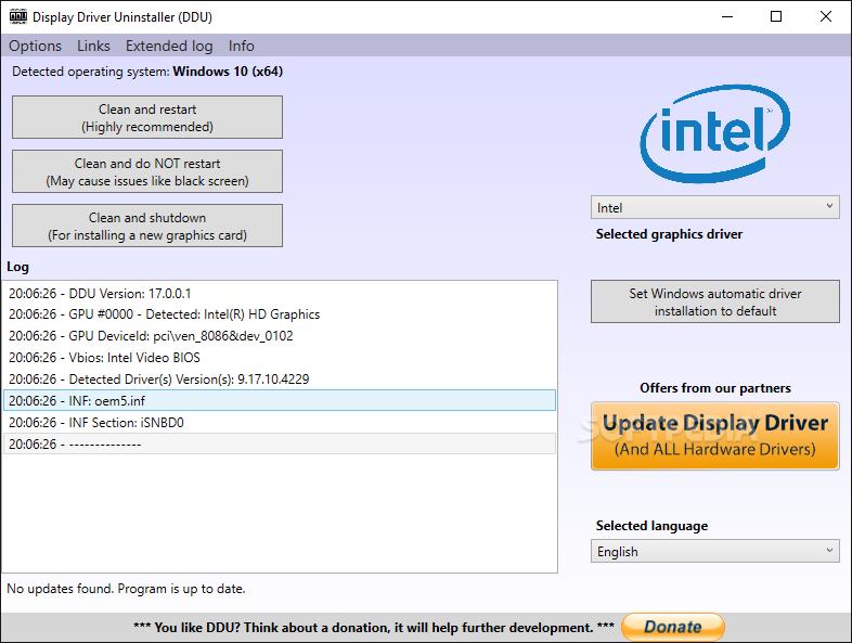 Download Display Driver Uninstaller (DDU) 18 0 1 8