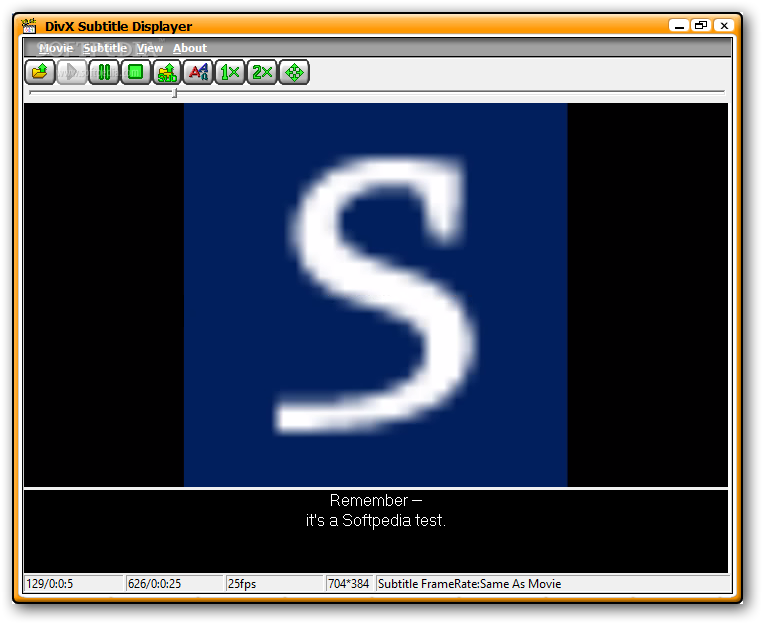 Divx subtitle displayer download.