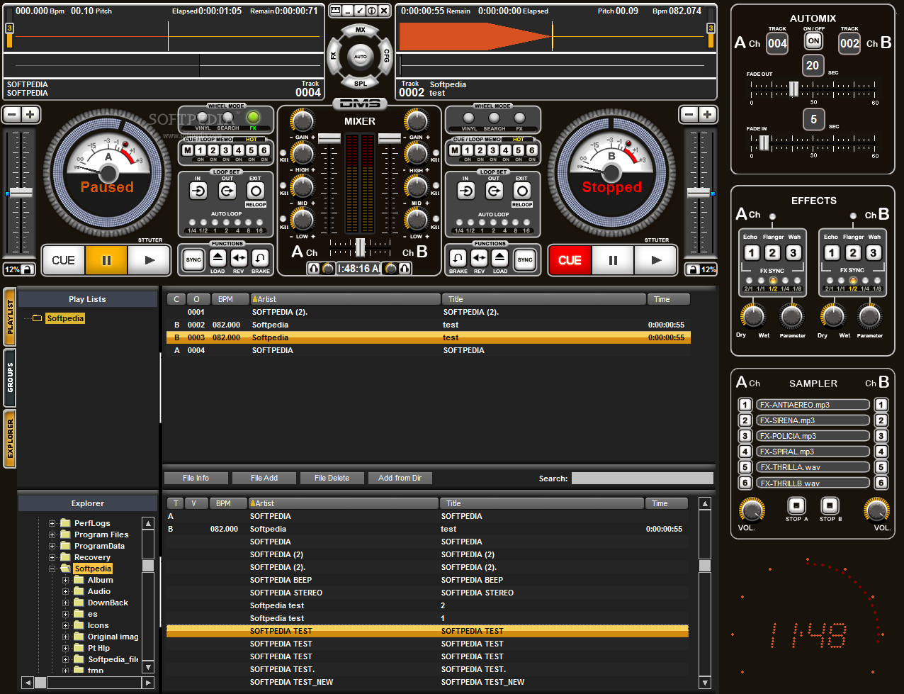 dj mixer free download full version