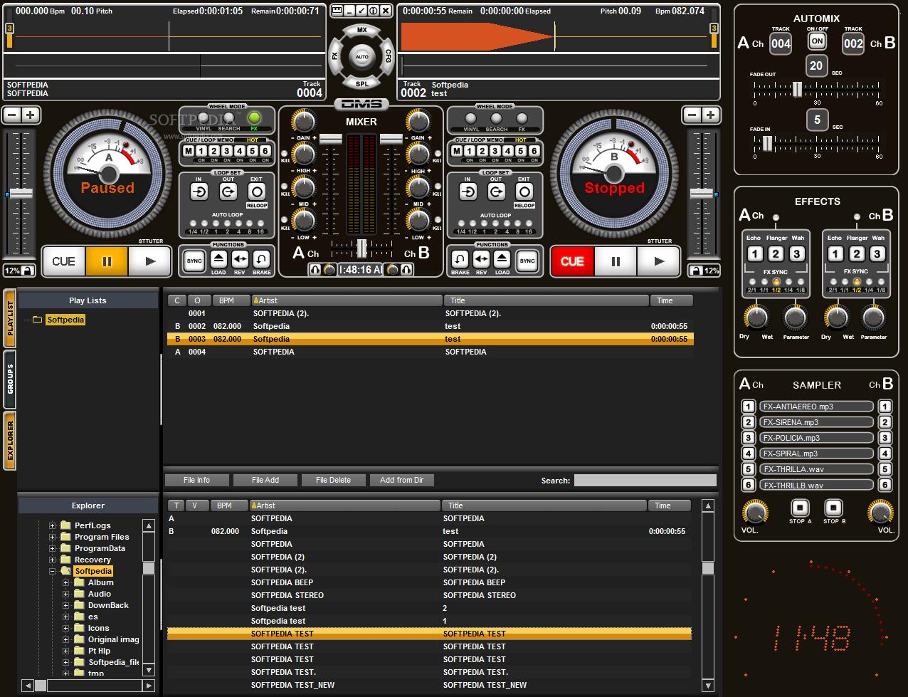 dj mixer software free download full version for windows 7