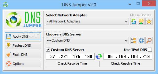JUMPER TÉLÉCHARGER 2.0 DNS