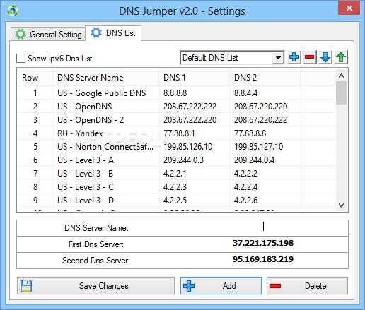 GRATUIT TÉLÉCHARGER DNS JUMPER V1.0.6