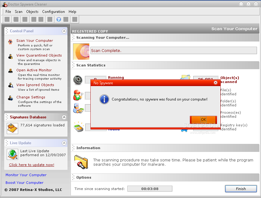 Spyware doctor 5.5.1.322 full version