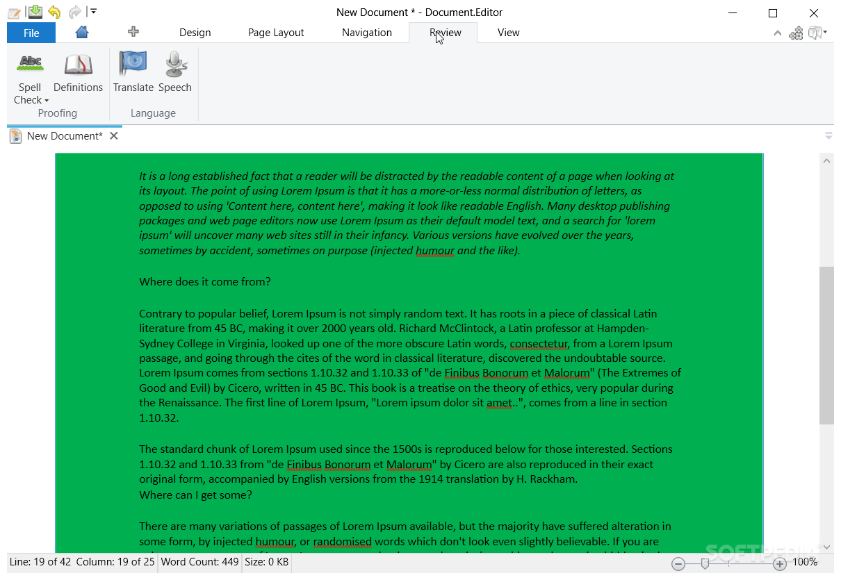 free document editing software for windows 8