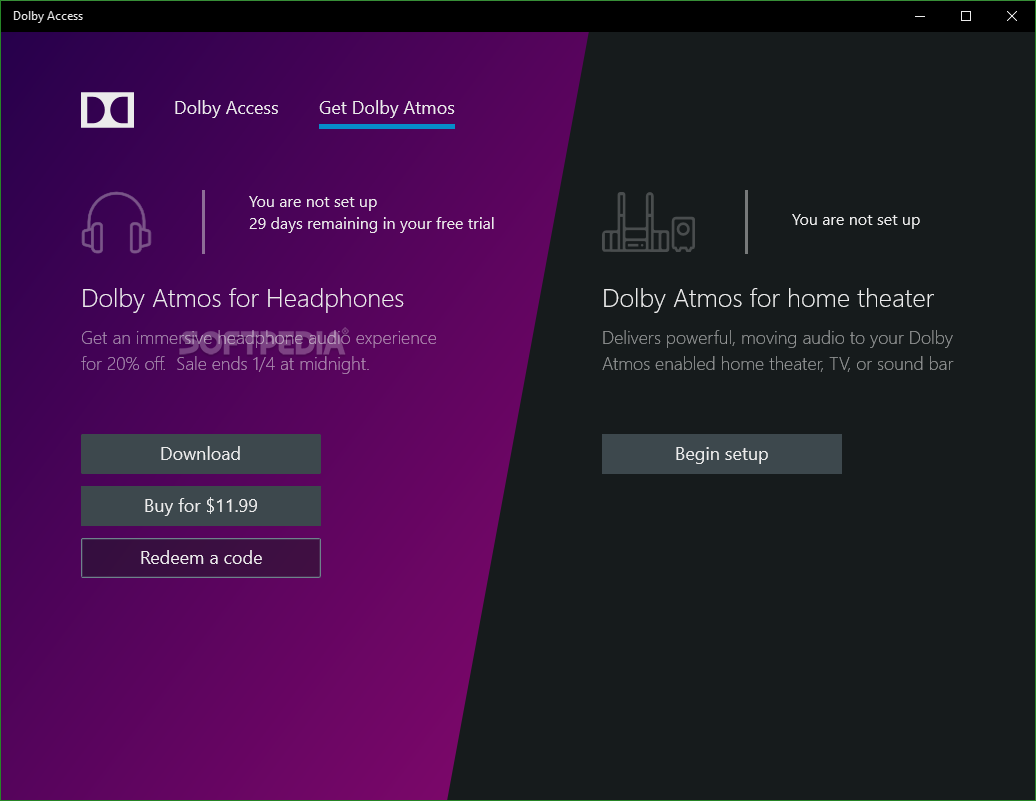 Download Dolby Access 3 0 3282 0