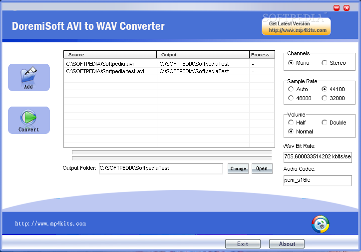 Download Doremi AVI to WAV Converter 1 6