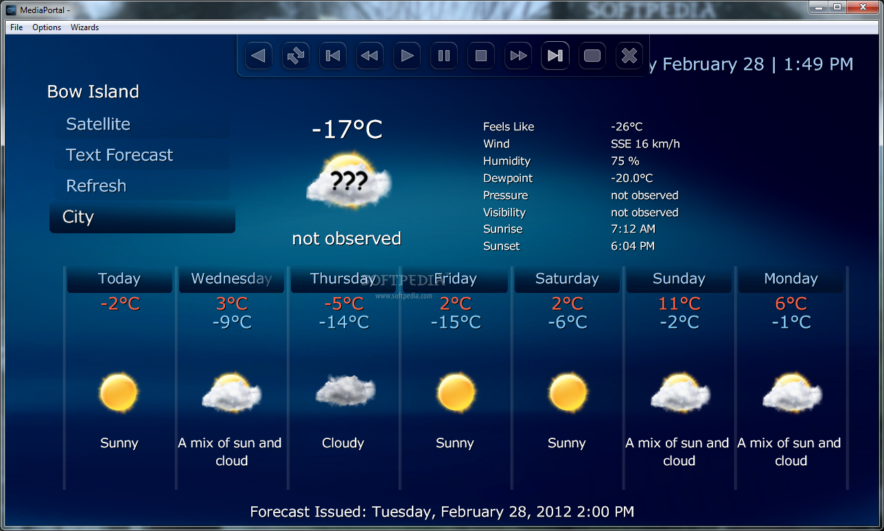Canadian Weather Download