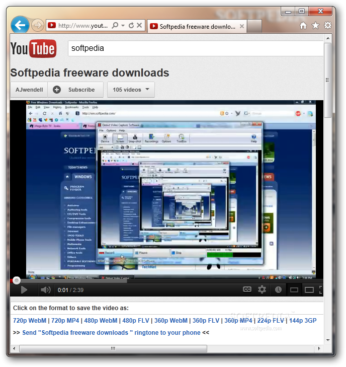 Using download this video in internet explorer – support.