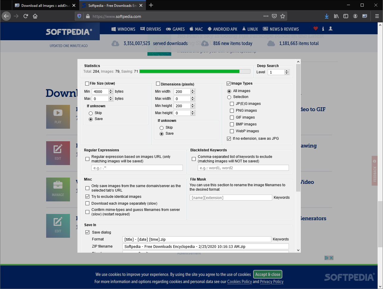Download Download All Images For Firefox 0 7 4