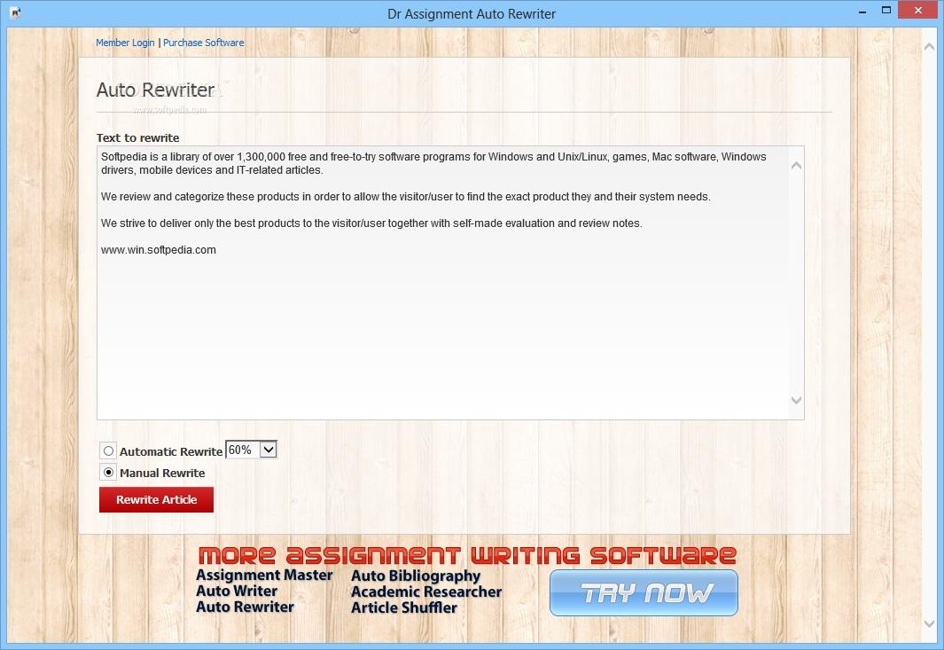 essay rewriter software Essay rewriter is a demo software by essay writing software and works on windows 10, windows 81, windows 8, windows 7, windows xp, windows 2000, windows 2003, windows 2008.