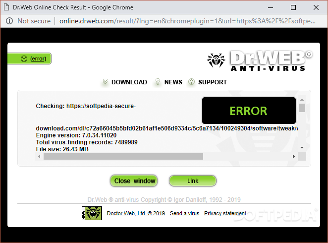 Download Dr Web LinkChecker for Chrome 3 9 17 8270
