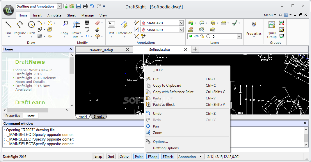 Download DraftSight 2019 SP0