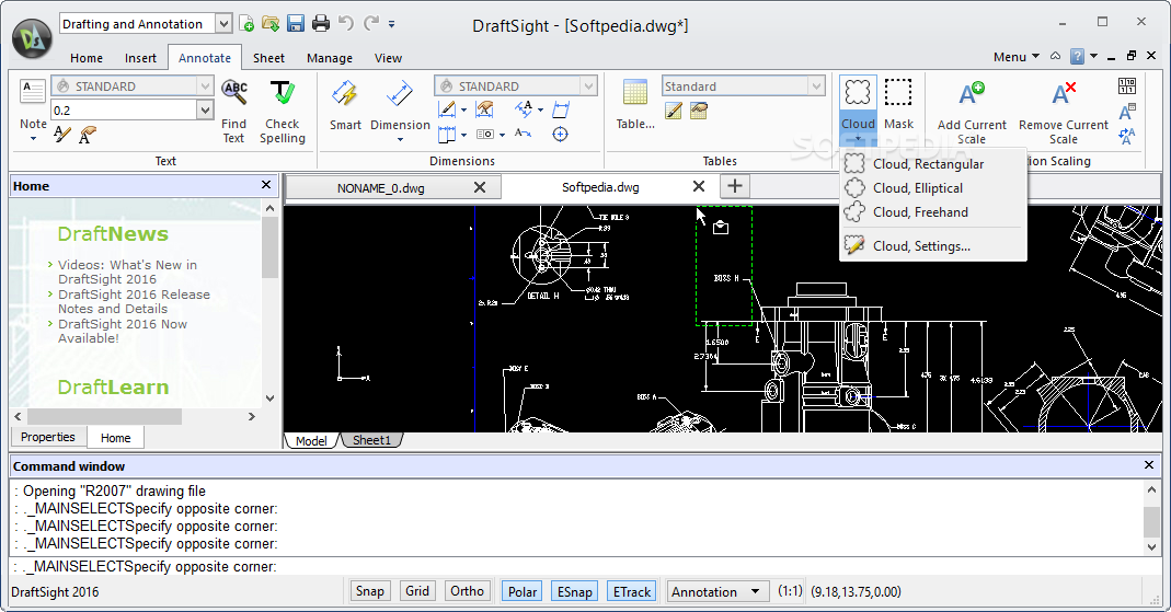 draftsight 2016 free download 64 bit