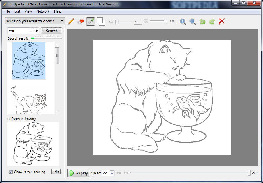Download Drawez Cartoon Drawing Software 1 0 Incl Crack
