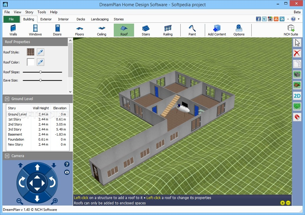 Download Dreamplan Home Design Software 4 27 Beta