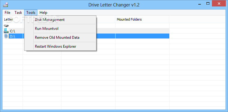 how to change removable disk letter