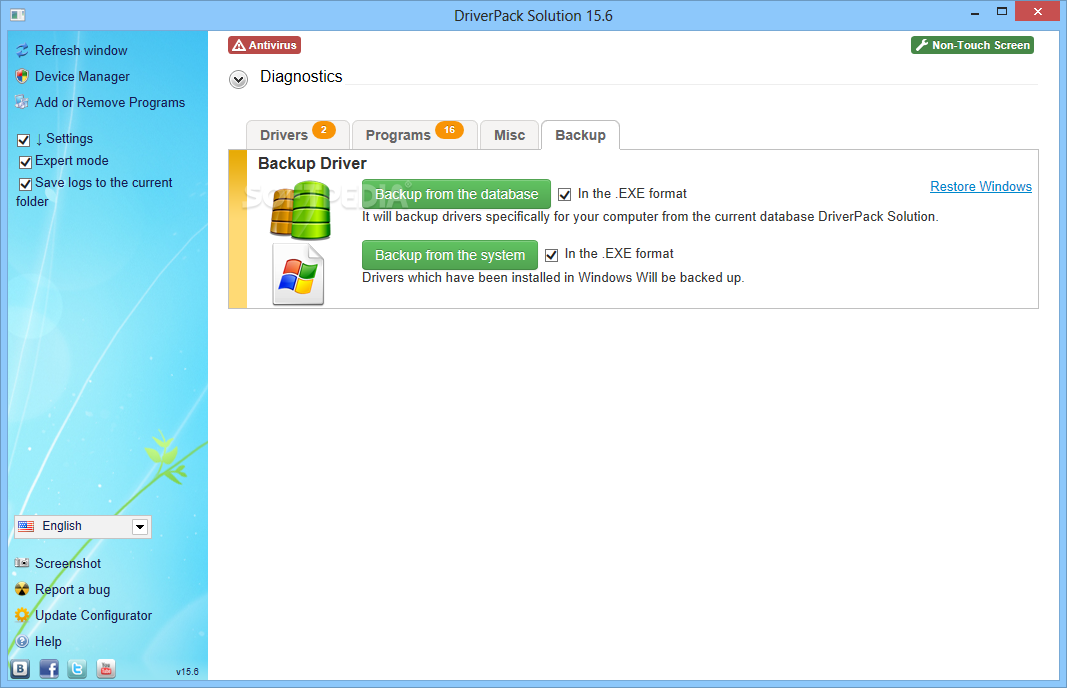 Double Driver 4.1.0 Portable Free Download