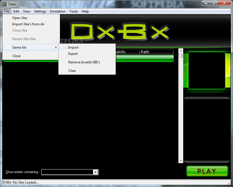 Download xbe roms