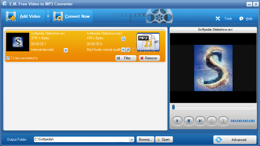free software video to mp3 converter