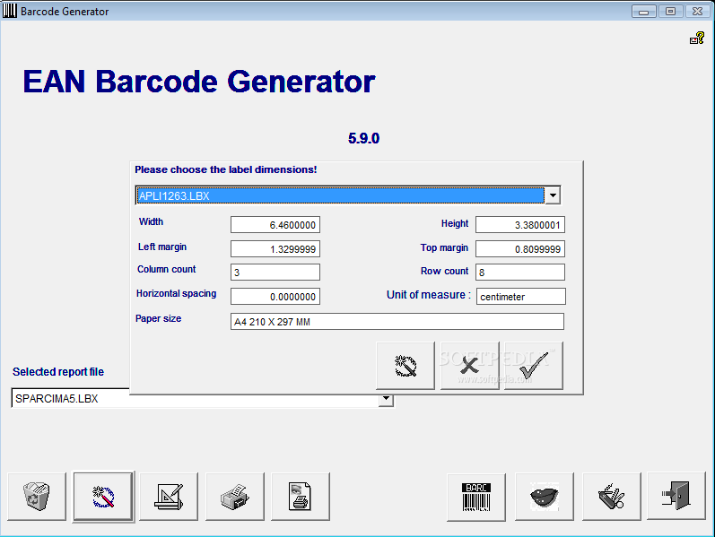 Download EAN Barcode Generator 5.9.0 incl Crack/Keygen/PATCH